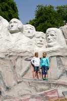 Mini Mt Rushmore