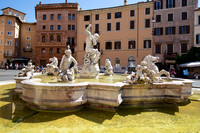 One of three fountains of Piazza Navona